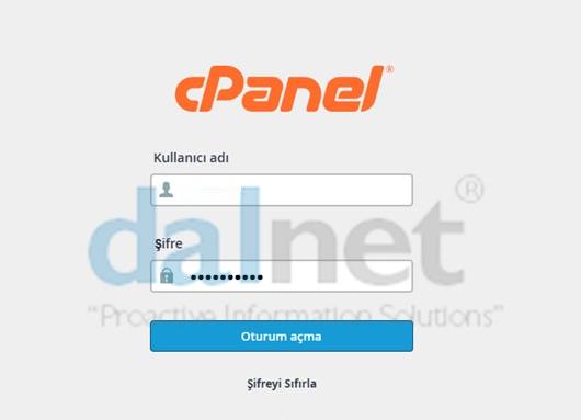 cPanel'de E-Posta hesabı oluşturma