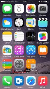 iPhone Mail Kurulumu - 1