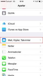 iPhone Mail Kurulumu - 2
