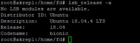 Ubuntu 18.04 Güncelleme