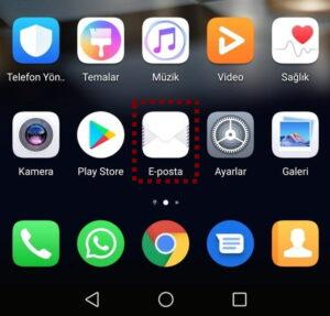 FB ANDROID 1 fenerbahce.com.tr Android E-Posta Hesabı Kurulumu