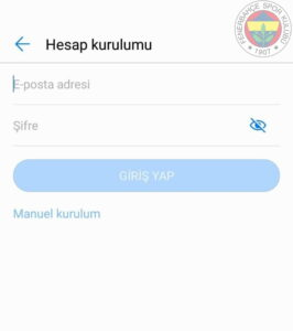 FB ANDROID 2 fenerbahce.com.tr Android E-Posta Hesabı Kurulumu
