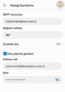FB ANDROID 25 fenerbahce.com.tr Android E-Posta Hesabı Kurulumu